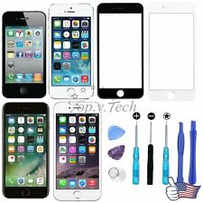 US Front Touch Screen Glass Lens Replacement For iPhone 4 5 6 7 Repair Tools Kit