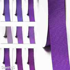 "Top Grosgrain Ribbon 1/2"" /13mm Thin Wholesale 100 Yards, lilac purple s color"