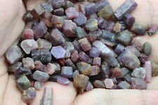 100CT.LOT ROUGH PURPLE/RED RUBY SAPPHIRE  NATURAL Unheated!! Free shipping