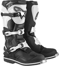 ALPINESTARS TECH 1 MOTOCROSS ATV DIRTBIKE MX BOOT BLACK WHITE MEN ALPINESTAR MX