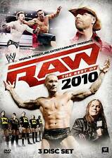 WWE: Raw - The Best of 2010 (DVD, 2011, 3-Disc Set)