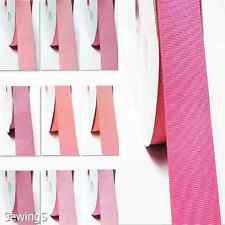 "Polyester Grosgrain Ribbon 1.5"" / 38mm Wholesale 100 Yards Pink Bulk for Silk"