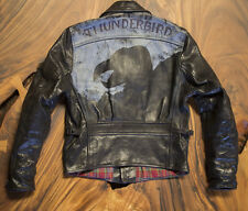 LVC Levis Vintage Clothing Aero Leather motorcycle Jacket Bird of Prey horsehide