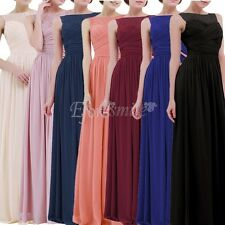 Women's Long Formal Prom Dress Bridesmaid Cocktail Party Ball Gown Evening Dress