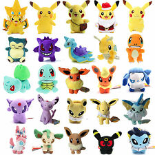 Rare Pokemon Collectible Plush Character Soft Toy Stuffed Doll Teddy Gift Kids