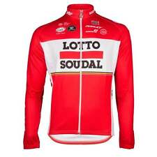 Vermarc Official Team Lotto Soudal Long Sleeved Cycle Cycling Bike Jersey