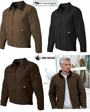 DRI DUCK Outlaw Boulder Cotton Canvas Work Jacket w/ Corduroy Collar 5087 S-4XL!