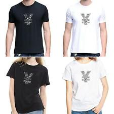 Men Women Chinese Yuan Sign O-Neck Short Sleeve Summer Top Tee T-Shirt Speedy