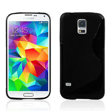 Black TPU Gel Rubber Silicone Case Skin Cover For Samsung Galaxy S5 S3 i9300