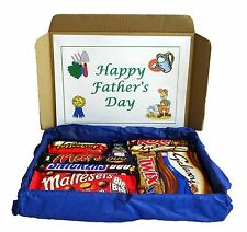 Fathers Day Gift, Personalised Chocolate Hamper, Best Dad, Fathers Day Present