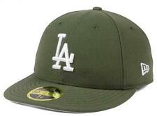 Official MLB Los Angeles Dodgers New Era 59FIFTY Low Profile C-Dub Fitted Hat