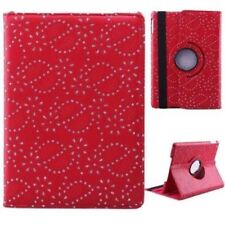 iPad MINI 4 - 360 BLING DIAMOND Rotate SPARKLE Leather Stand Cover Case APPLE