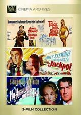 TAKE HER, SHE'S MINE/THE JACKPOT/NO HIGHWAY IN THE SKY NEW DVD