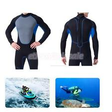 Men Surfing Scuba Diving Suit Freedive Wetsuit Snorkel Warm Swimwear Rash Guard