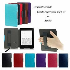 For Amazon Kindle/Kindle Paperwhite Ultra Slim Magnetic Leather Smart Case Cover