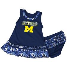 University of Michigan Wolverines Infant Fountain Dress Set