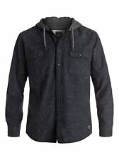 Quiksilver™ Under The Wave - Long Sleeve Hooded Shirt - Men