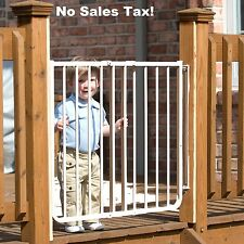 Child Safety Gate Stairway Special Outdoor Baby Pet Dog Fence Indoor Adjustable