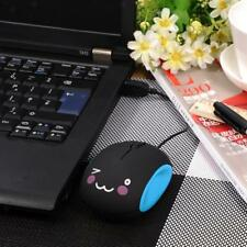 USB Optical Scroll Wheel Retractable Cable Wired Mice Mouse for PC Laptop