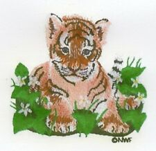 WILD BABY ANIMALS COLLECTION - MACHINE EMBROIDERY DESIGNS ON CD