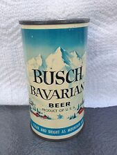 Near Mint Busch Bavarian Beer, Flat Top Beer Can,A-B Brewing Co. Miami FL