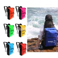 25L Sports Waterproof Dry Bag Backpack Floating Boating Kayaking Camping Hiking