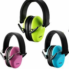 MPOW Folding Ear Muff Hearing Protection Loud Noise Reduction for Children Kids