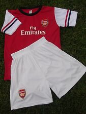 ARSENAL Home SOCCER Football Jersey & Shorts KIDS Size 14 NEW Complete Outfit