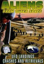 ALIENS FROM OUTER SPACE: UFO LANDINGS, CRASHES AND RETRIEVALS NEW DVD