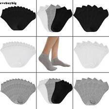 Women Cotton Breathable Low Cut Socks No Show Casual Socks Pack of 6/12 E45B