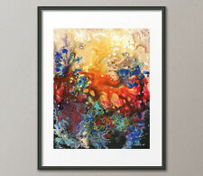 Gallery Canvas & Fine Art Prints Abstract Contemporary Red Painting Modern