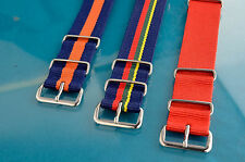 SPECIALLY COLORED USM MoD OUTLINED REGULATION MILITARY G-10 WATCH BANDS
