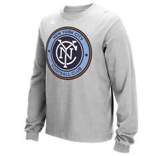 New York City FC Long Sleeve T-Shirt Adidas Logo Tee