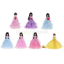 Doll Handmade Clothes Evening Dress for Barbie Doll Party Dress Outfits Gift