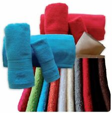 100% COTTON 500gsm BATH TOWELS-HAND TOWEL,BATH TOWEL,SET 3-4 PIECES  MULTICOLORS