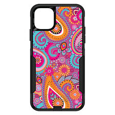 OtterBox Commuter for iPhone 5 SE 6 S 7 8 PLUS X Pink Blue Orange Paisley