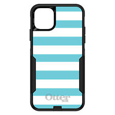 OtterBox Commuter for iPhone 5 SE 6 S 7 8 PLUS X Blue & White Bold Stripes