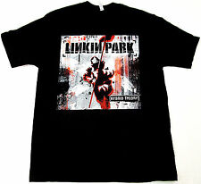 LINKIN PARK Hybrid Theory T-shirt Adult Black Tee New