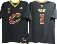 KYRIE IRVING CLEVELAND CAVALIERS NBA ALTERNATE YOUTH SLEEVED JERSEY