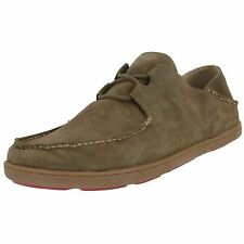 OLUKAI SAMPLE 10174 MEN'S OHANA SNEAKER SUEDE LACE UP  SLIDE SHOES US 10 EU 43