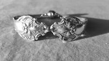 1906 Charter Oak Serving Spoon Bracelet Strong Magnetic Clasp Choose Size