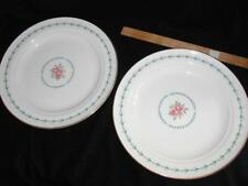 2 HALL CHINA HARMONY HOUSE MOUNT VERNON Large Dinner Plates     k