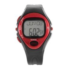 Pulse Heart Rate Monitor Calories Counter Fitness Watch Time Stop Watch Alarm IM