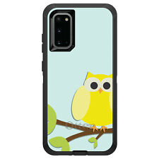 OtterBox Defender for Galaxy S5 S6 S7 S8 S9 PLUS Yellow Owl Cartoon