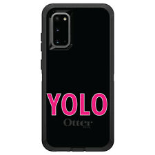 OtterBox Defender for Galaxy S5 S6 S7 S8 S9 PLUS Black Pink YOLO