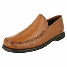 Mens Anatomic & Co Angra Cognac Toast Leather Slip On Shoes