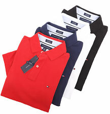 Tommy Hilfiger Men's Short Sleeve Custom Fit Pique Polo Shirt - $0 Free Ship