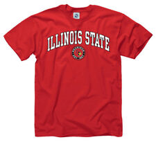 Illinois State Redbirds Adult Arch and Ring T-Shirt - Red