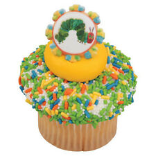 The Very Hungry Caterpillar Cupcake Topper Rings - Set of 12 (Baby Shower Party)