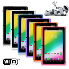 """7"""" HD Unlocked Tablet PC 8GB Wi-Fi Camera Quad Core Google Android 4.4 Tablet"""